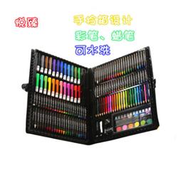 悦臻168件实用绘画文具套装礼盒