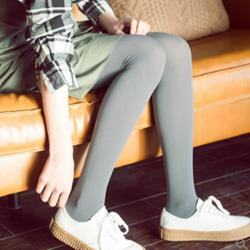 FIRSTMIX春季新款80D天鹅绒修身弹力打底连裤袜【3条装】