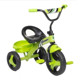 hd小龙哈彼 儿童脚踏三轮自行车糖果绿