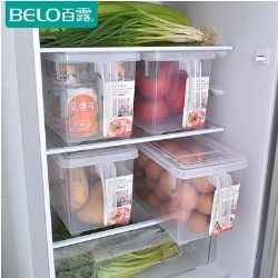 百露冰箱厨房食品收纳盒单个装
